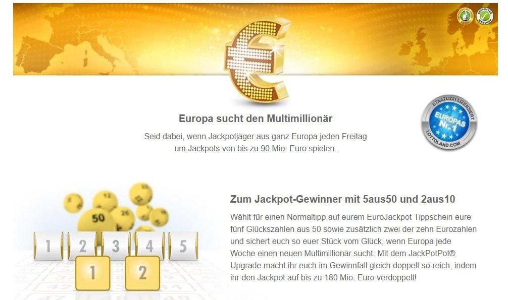 Wo Kann Man Eurojackpot Spielen